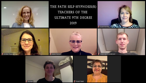 Graduates of our 7th Path Self-Hypnosis® Teacher Certification Course 2019