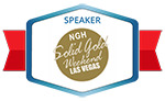 Cal Banyna as Speaker on NGH Solid Gold Weekend