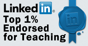 LinkedIn Top1% Endorsed for Teaching