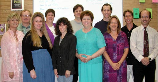 Graduates of our NGH Hypnosis Certification Program July 2001