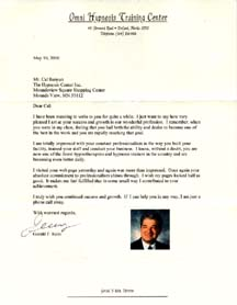 Jerry Kein Letter